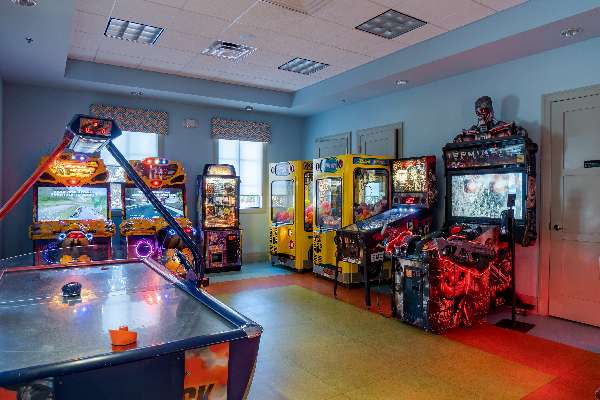 Game on at Oasis arcade!