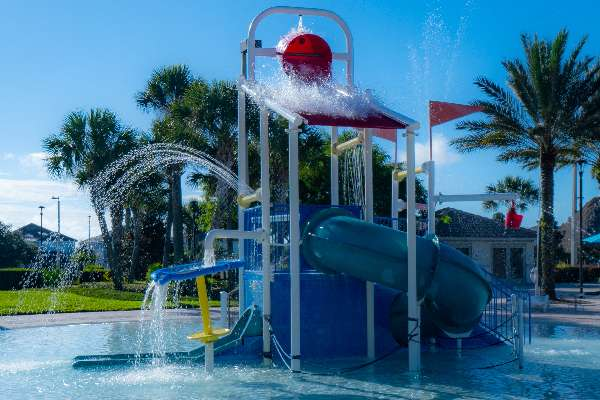 Kids love to splash and play at the Oasis