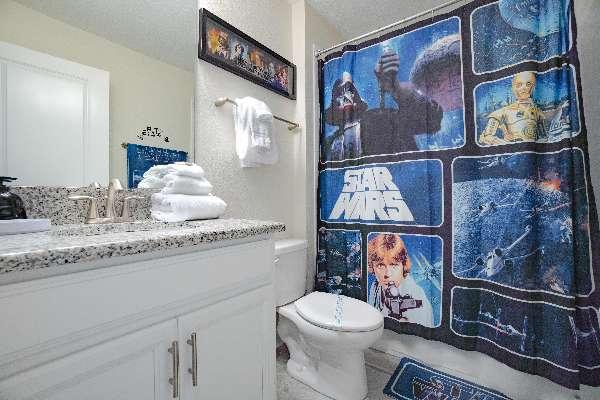 Kids very own Star Wars bathroom